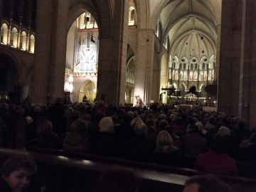 Kathedraal vol voor Lessons and Carols