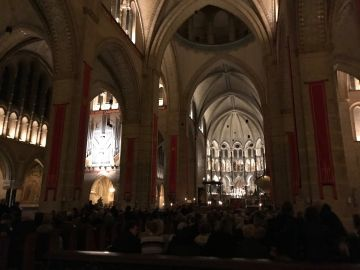 Nine Lessons and Carols in de kathedraal