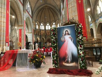 Why God created us with a free will? Divine Mercy feast in Cathedral