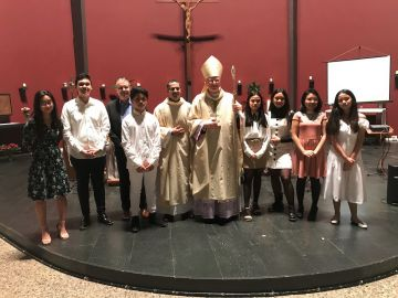 Holy confirmation in the community of Couples for Christ